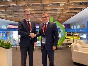 Алексей Текслер провел встречу с руководством корпорации Fortum