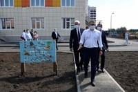 Алексей Текслер проверил ход строительных работ на нескольких объектах социальной инфраструктуры Магнитогорска