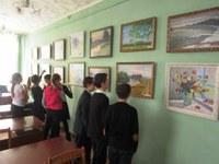 В читальном зале Кизильской районной библиотеки начала свою работу персональная выставка Михаила Петровича Решина к 75-летию со дня рождения «Мои года – мое богатство»