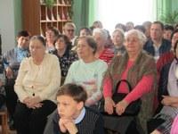 В Кизильской районной библиотеке состоялся необычный  праздничный поэтический вечер « В кругу друзей».